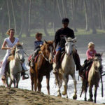 Horse back riding in Cabarete