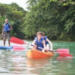 Kayaking in Cabarete